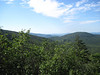 Dickey Notch and views to south