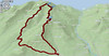 GPS Track in 3D of our route