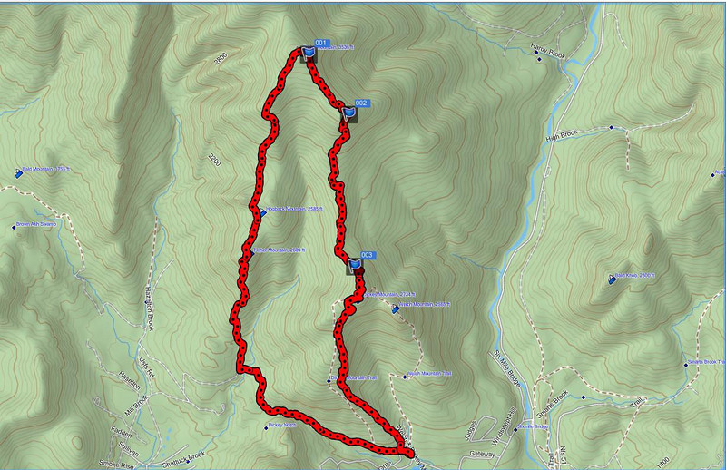 FGD GPS Track 2D
