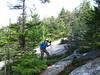 Amicus shows off his trekking poles