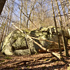 Big rock in the sun