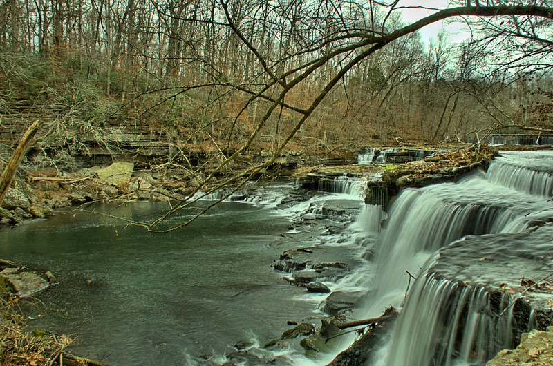 Bluehole Falls on Big Duck River