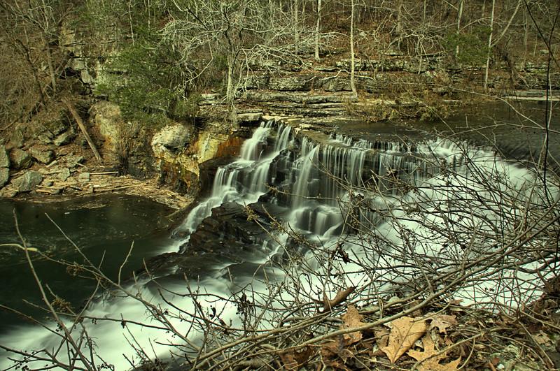 Big Falls on Big Duck River