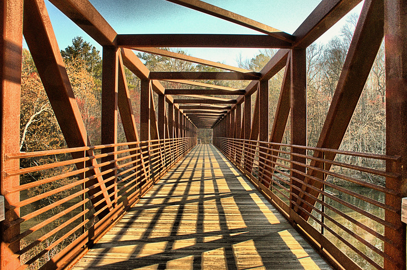 Bridge over Sweetwater Creek