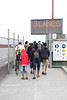 The number of available lanes each way on the bridge changes with the traffic.