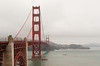 Looking north across the Golden Gate to Fort Baker.