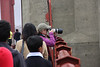Lisa on the Golden Gate Bridge