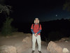 Starting out on the South Kaibab Trail at 4:40 AM.<br /> Thanks so much to John (JAGCHiker) showing me the perfect overnight spot, the best parking spot, and for shuttling me to the trail head before the hiker's shuttle bus.  It made the entire experience run so much more smoothly.