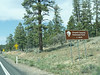 """The first of these signs I saw during the drive read """"200 miles"""".   Leaving the North Rim, I saw another that read """"South Rim, 200 Miles""""."""
