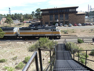 The Grand Canyon train comes from Williams every day.