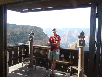 Being a tourist at the South Rim.