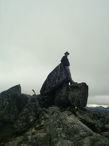 Robert on summit of Granite.