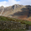 Langdale Fell from the valley