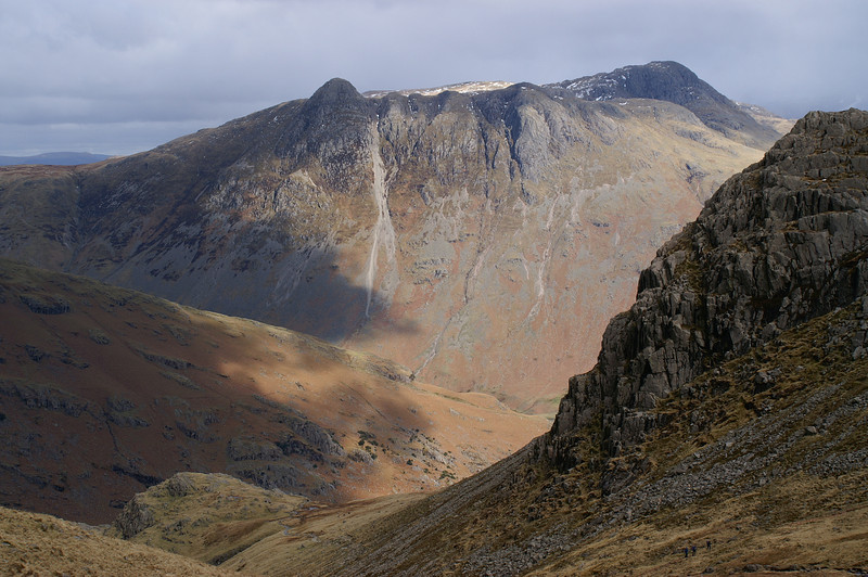 Langdale Fell from the first Crinkle