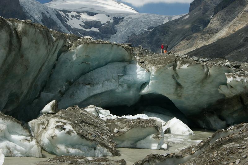 Gletschertor an der Pasterze