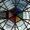 Glasdach der Swarovski-Beobachtungswarte