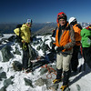 Ankunft nach Gipfelbesteigung