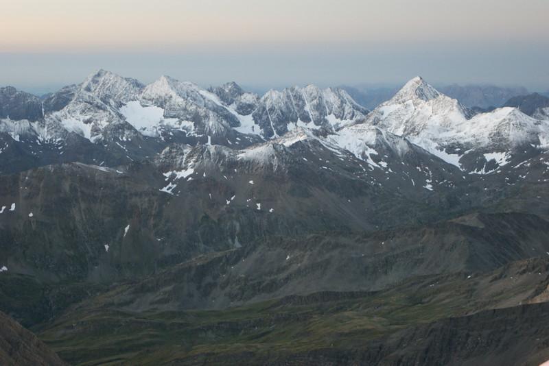 Blick von der Adlersruhe am Morgen des 21.08.2013