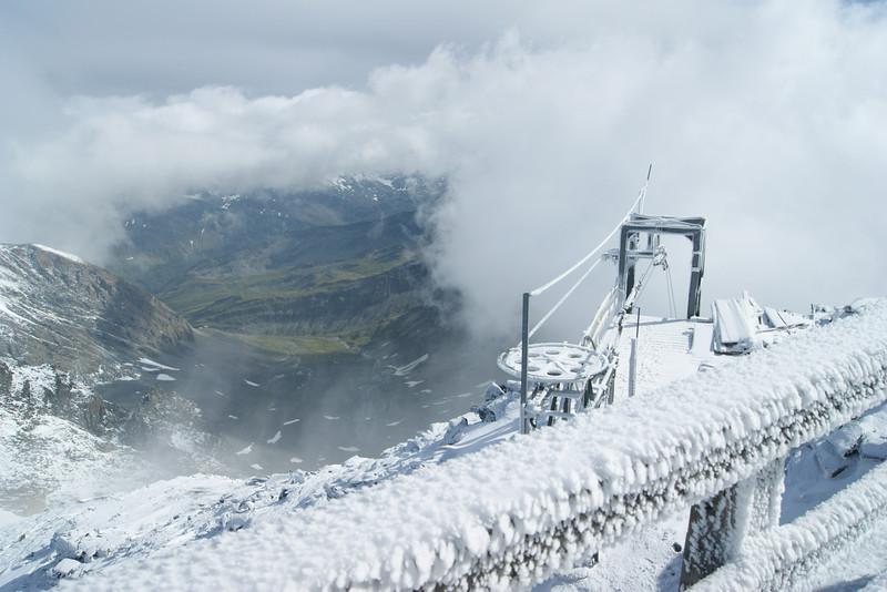 Adlersruhe bzw. Erzherzog-Johann-Hütte auf 3.450 m Höhe