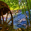 Woodward Mill ruins and falls