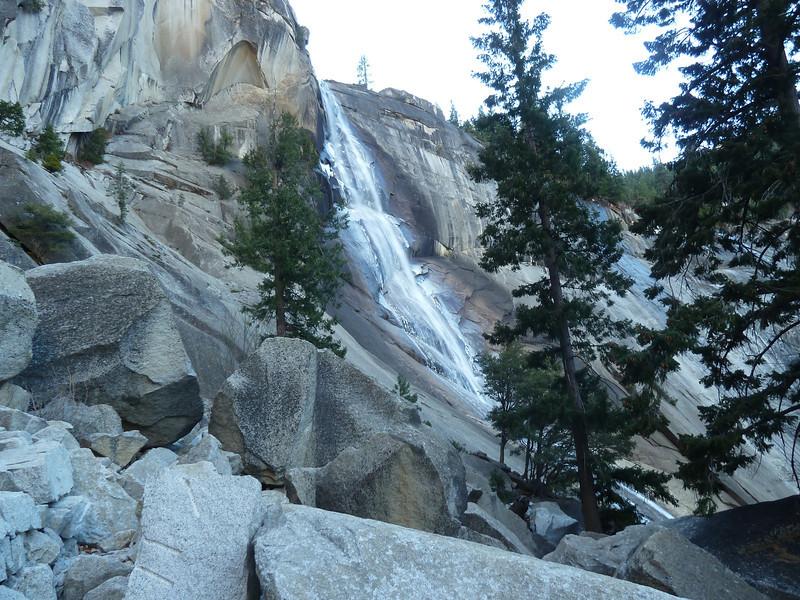 Nevada Falls -- Icy!