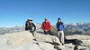 Three dudes on Half Dome.