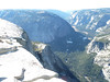 The Diving Board and Yosemite Valley.