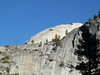 The top backside of Half Dome