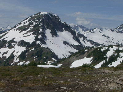 Hannigan Pass & Peak- July 7th, 2007