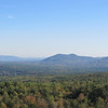 Lake Ossipee and beginning of the Ossipee Range to the south and east