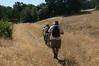 Heading up the trail spur.