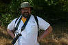 Pete the studly photographer guy is ready to go.