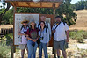 Stephanie, Ellen, Linda, Paul, and Pete as photographed by the kindly ranger volunteer. (There were two of them manning the visitor center, and only two other cars the whole time we were there.)