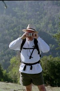 Paul taking photo of ellen taking photo of paul taking photo of...
