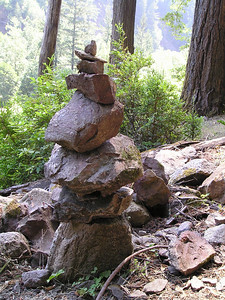 Found this pile of rocks just above our destination near Big Rock Hole.