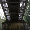 This is a view from under the bridge.