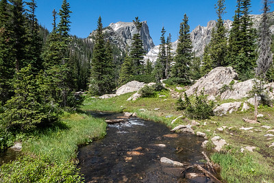 Stream on Way to Emerald Lake