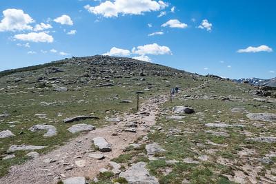 Start of the Ute Trail