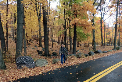 Hike with Herb in Harriman State Park (Oct. 2012).