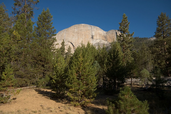 The backside of Half Dome.