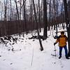 John on the Lenape Ridge Trail.