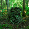 another one of several rock cairns near Injun Creek