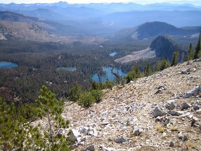 Island Lake & Ruffneck Peak_Sept. 27-28 2008