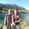 Couple of bums at Purple Lake