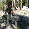 At last we found the PCT after being lost for an hour.