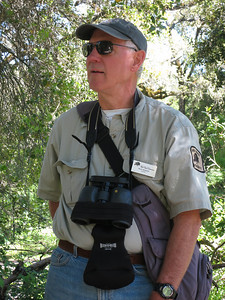 Rick was also on the Coyote Ridge hike of 2 weeks ago. He is THE bird expert extraordinaire docent. See 'em, hear 'em, he can tell you what they are.