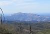 The backside of El Cajon Mountain.