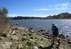 Lunch at Lake Cuyamaca.