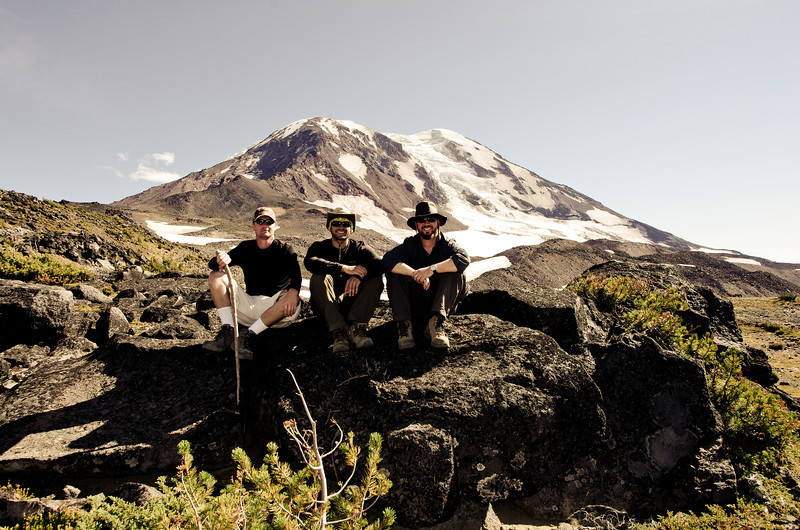 Us and Mt. Adams