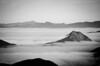Morning valley fog